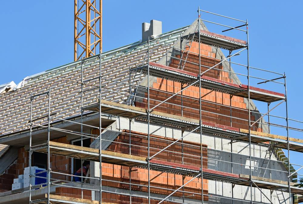New Homes in Nottingham Will Need Scaffolding