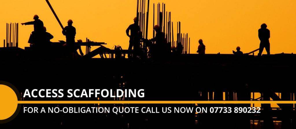 scaffold erecting in Derbyshire Quote