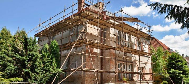 Private Residential Scaffolding in Staffordshire