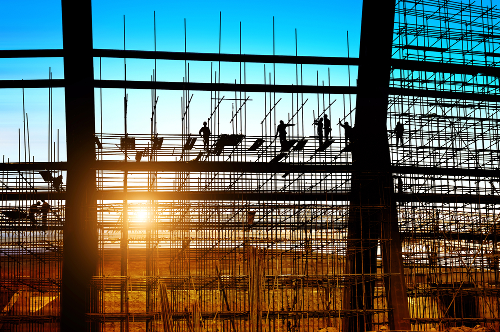 Scaffolding Plays a Part in Government Construction Drive