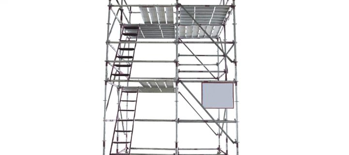 How to Erect Stairwell Alloy Towers