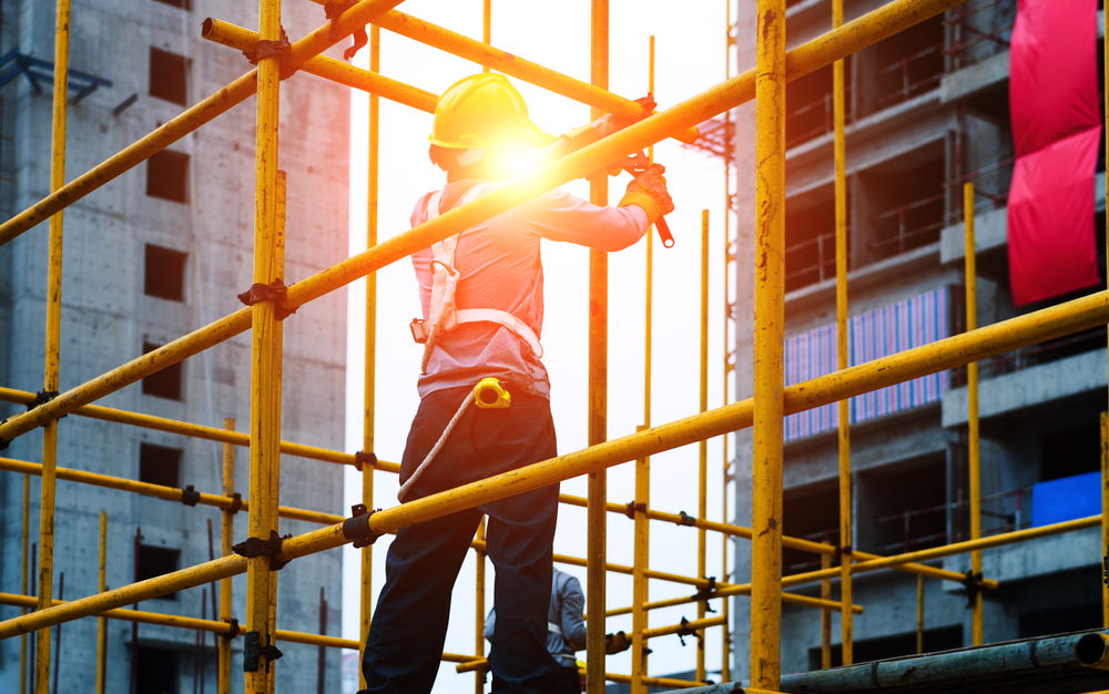 What are the different types of scaffolding?