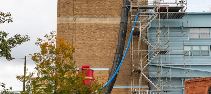 Demolition scaffolding services from Network Scaffold