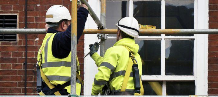Do I need scaffolding to replace my windows?