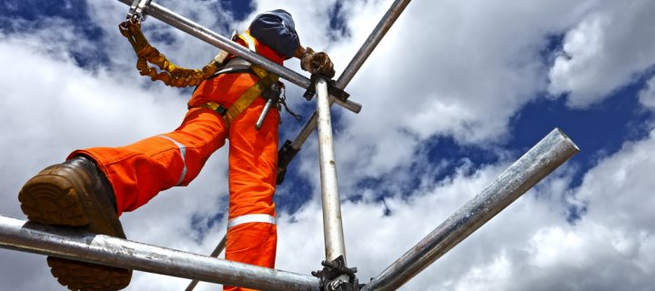 What are the essential pieces of scaffolding equipment?